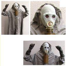 Abc Schutzanzug Abc Schutz Mantel Halloween Gasmaske Fetisch Black Style Filter