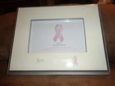 """Picture Frame Breast Cancer Awareness Pink Ribbon Live Love Cure 6x4"""" Concepts"""