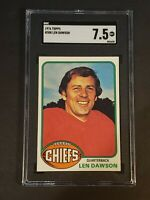 1976 Topps #308 Len Dawson SGC 7.5 NM/MT+ Newly Graded