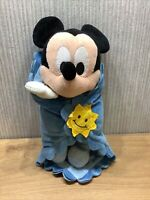 Disney Baby Mickey Mouse Plush Soft Toy Collectable Large 14 Inch blanket