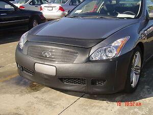 Colgan Front End Mask Bra 2pc. Fits Infiniti G37 G37X Coupe 2008-10 W/O License