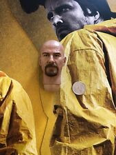 THREEZERO Breaking Bad brba materiales peligrosos Walter cabeza esculpida Suelto Escala 1/6th