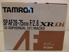 NEW TAMRON SP AF 28-75mm F/2.8 XR Di LD Aspherical [IF]MACRO Model A09 for Canon
