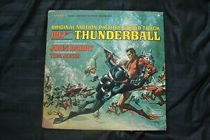 Vinyl 12 inch Record Album Movie Soundtrack James Bond Thunderball