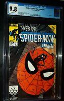 WEB OF SPIDER-MAN ANNUAL #2 1986 Marvel Comics CGC 9.8 NM/MT