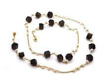 Behandelte Echtschmuck-Halsketten & -Anhänger mit Perle