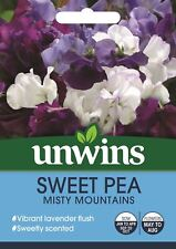 Unwins Pictorial Packet - Sweet Pea Misty Mountains - 21 Seeds