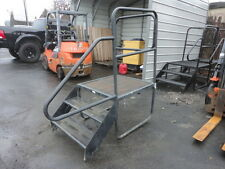 Portable Office Trailer Steps