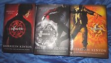 Chronicles of Nick Invincible Inferno Illusion by Sherrilyn Kenyon HC LOT of 3