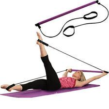 Portable Pilates Bar Stick Fitness Exercise Bar Yoga Resistance Stick Gym P0I4
