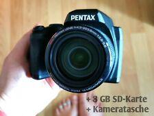 Megazoom-Digitalkamera Pentax  XG-1 * 52x opt. Zoom * 16.0MP * + Zubehörpaket