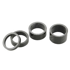 Carbon Fiber 3/5/10/15/20mm Spacer For Stem Bike Bicycle Headset Washer 28.6MM