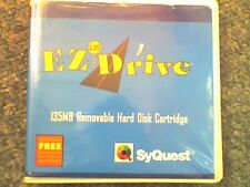 SYQUEST EzDrive 135Mb Disk - 1 Pack (1 Disk) - PC Formatted - USED - VGC - D