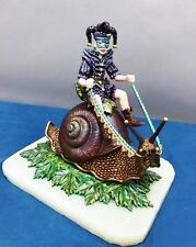 """""""Into The Forest"""" ( Clown Riding Fantasy Snail ) Direct From Ron Lee"""