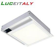 Cornice 60x60 FISSAGGIO PANNELLO LED parete soffitto staffe accessori plafoniera