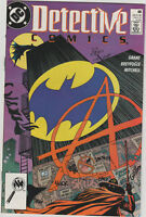 DETECTIVE COMICS #608 1ST Appearance ANARKY Batman DC Comics 1989