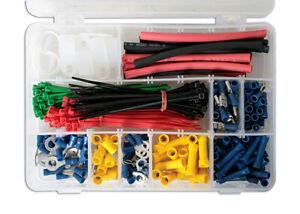 Verkauf Preis Elektrisch Schlauchverbinder Set - 338pc 77070 Von Gunson