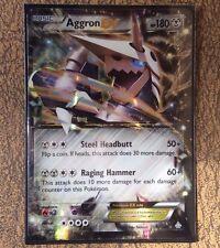 Pokemon Card   AGGRON EX   Ultra Rare   98/160 PRIMAL CLASH ***MINT***