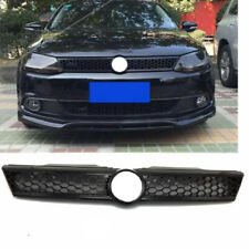 NEW Front Trim Radiator Modify Grilles Grillf Fit For VW Jetta MK6 11-14 BLACK