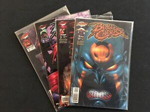 Battle Chasers #2 3 4 5  Comic Lot Joe Madureira Great Art/ Condition