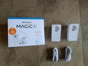 devolo Magic 1 LAN 1-1-2 Powerline-Starter Kit (2 Adapter) 1200 Mbit/s
