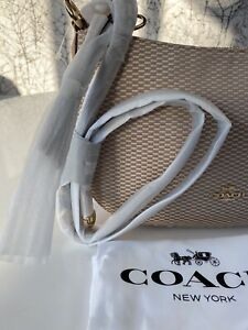 COACH Legacy Jacquard Sutton Crossbody Beechwood Shoulder Bag  RRP £220