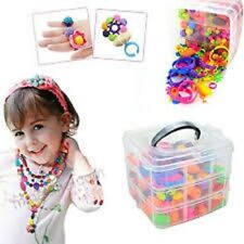 380PCS Pop Beads Snap Beads DIY Jewelry Making Kit, Fashion Kit Jewelry For Kids