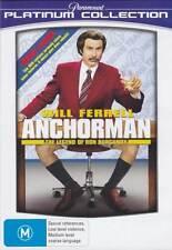 Anchorman: The Legend of Ron Burgundy * NEW DVD * Will Ferrell Steve Carell Rudd