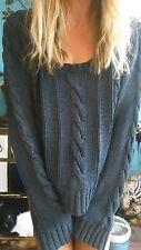 """Sass & Bide """"Plaited Knit"""" Jumper Sweater sz M"""