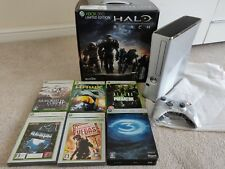 Japanese Microsoft Xbox 360 Halo Reach Limited Edition Model with game's