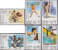 Laos 1155-1160 (kompl.Ausg.) postfrisch 1989 Olympische Sommerspiele 1992, Barce