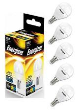5 x Energizer E14 SES Golf LED Light Bulb 250lm Opal 3.4W=25W Warm White 2700k
