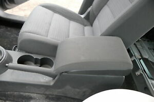 VW Touran 1T3 Apoyabrazos Reposabrazos Compartimentos Original Antracita
