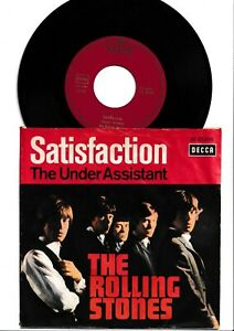 Single-The Rolling Stones-Satisfaction