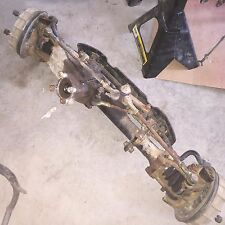 Honda Foreman TRX350 TRX front axle + brakes + fresh cv boots tie rods ALL here