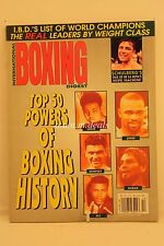 International Boxing Digest- The Top 50 Powers Of Boxing- December 15, 1997