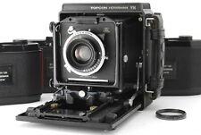 *NEAR MINT+++* HORSEMAN VH w/ SYMMAR-S 100mm F/5.6, 8EXP x3 Film Back From JAPAN