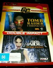 Tomb Raider Chronicles and Angel of Darkness PC GAME - FAST POST *