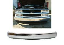 Front Chrome Smoothie Bumper For 1988-1998 Chevrolet/GMC Trucks New Free Ship