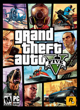 NEW Grand Theft Auto V GTA V game download code + $1.5M Pre-Order bonus (PC)