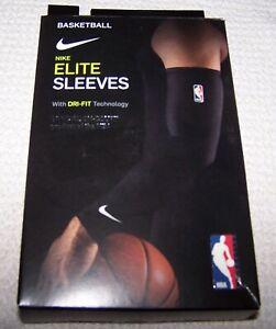 Nike NBA Elite Basketball Sleeves ORANGE Men's Large ~ NEW $25