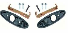 OER Outside Bullet Mirror Mounting Set 1970-1981 Firebird Camaro Nova GTO 442