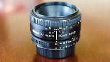 Nikon Nikkor AF 50mm f/1.8 D AF Lens