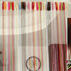 New Colorful Fringe Door Window Panel Room Divider String Curtain Strip Tassel