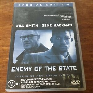 Enemy of the State DVD R4 Like New! FREE POST