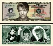 OUR DAVID BOWIE DOLLAR BILL (2 Bills)
