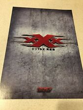 xXx  Return of Xander Cage Japan Cinema Movie Mini Poster