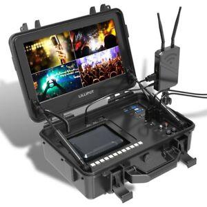 "LILLIPUT BM120-4KS 12.5"" 4K SDI Portable Broadcast Director Monitor HDR 3D-LUT"