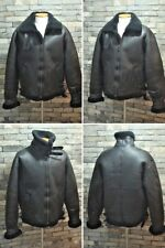 Air Force Type B-3 B3 Bomber Leather Sheepskin Military Flight US Aviator Jacket