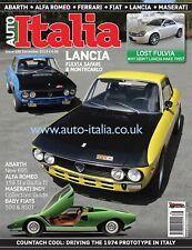 Auto italia Magazine issue 286 Lancia Fulvia Fulvietta Countach 159 TI Alfa 2600
